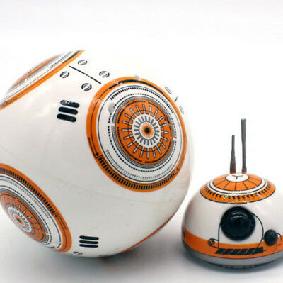 BB-8 Robot Star Wars RC 2.4G Remote Controlled Action Nice Intelligent Ball Toy