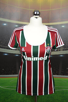 Fluminense Adidas 2013 Home Football Shirt (Woman S) Jersey Top Trikot Brazil