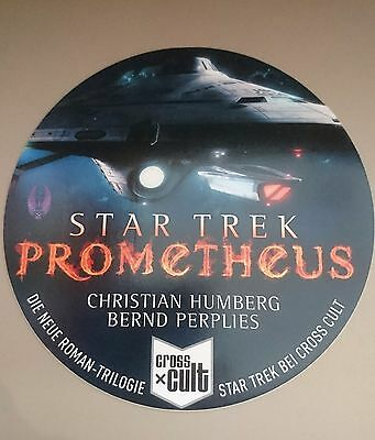 Star Trek Prometheus Werbesticker Cross Cult