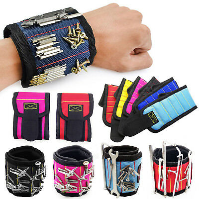 Magnetic Wristband Tool Belt Bracelet Screws Holding Scissor Work wrist holder