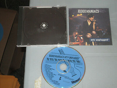 10000 Maniacs - Mtv unplugged  (Cd, Compact Disc) Complete tested