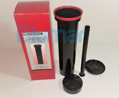 PATERSON SUPER SYSTEM 4 MULTI REEL 8 DEVELOPING TANK PTP 118- FAST shipping