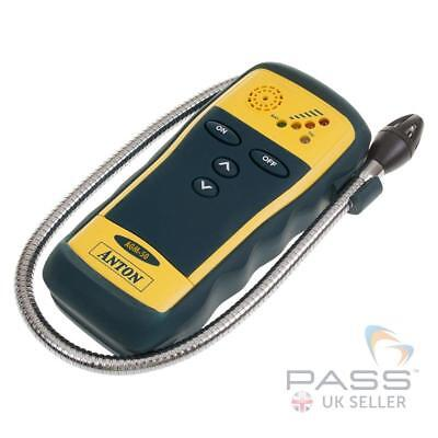 Anton AGM 50 Handheld Gas Leak Detector - LED light, Touch Keypad, flexible Prob