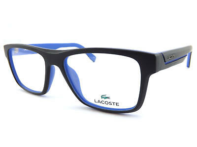 LACOSTE +0.25 to +3.5 Reading Glasses 53mm Matte Black over Blue L2792 001