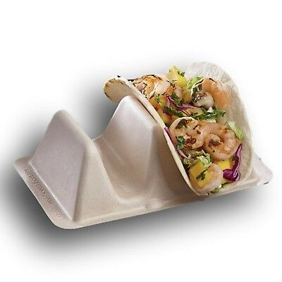 Pulp Fiber Taco Stand Up Divider / Holder by MT Products - (15 Pieces)