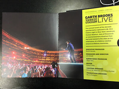 Garth Brooks Live DVD from Yankee Stadium NYC 2017 Emmy FYC Promo