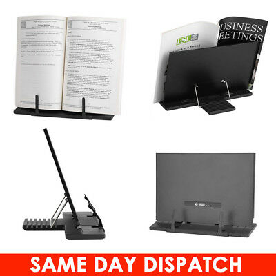 Adjustable Portable Book Document Metal Stand Reading Desk Holder Bookstand Gift