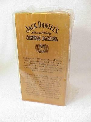 Jack Daniel's Single Barrel Display Wooden Box with Mirror Back Sealed