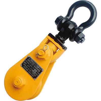 """8T 8"""" Snatch Block with Shackle"""