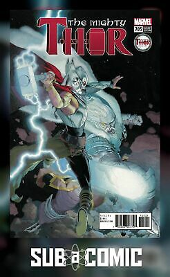 MIGHTY THOR #705 RIBIC MIGHTY THOR VARIANT LEGACY (MARVEL 2018 1st Print) COMIC