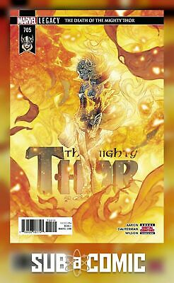 MIGHTY THOR #705 LEGACY (MARVEL 2018 1st Print) COMIC