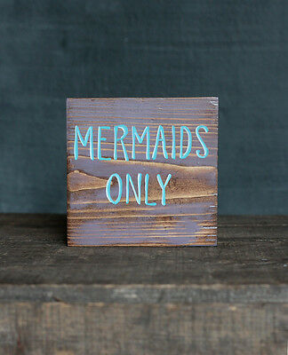 Even Mermaids Wash Their Tails 11.5x6.25 Vinyl Wall Art Decal Removable Sticker