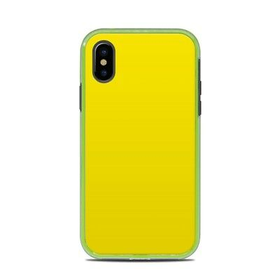 Skin for LifeProof SLAM iPhone X - Solid Yellow - Sticker Decal