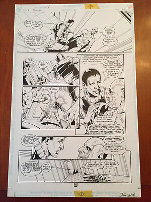 The Invisibles Vol 1#19 pg 22 – Action! Phil Jimenez! Grant Morrison! Vertigo!