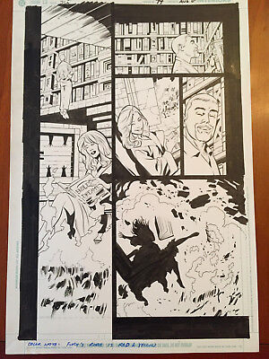 Justice Society of America (JSA) 74 page 1/ Leonard Kirk/ Dr Fate Attacked!