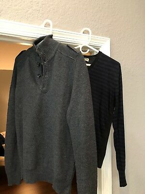 LOT of 2 Burberry Sweaters size M