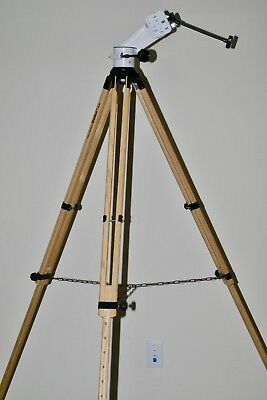 Porta II mount (item RC5863WLong) with Berlebach Wood tripod