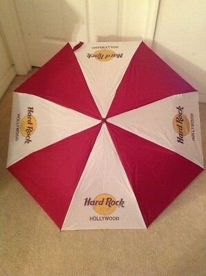 "Hard Rock Cafe Hollywood Umbrella 42"" Coverage"