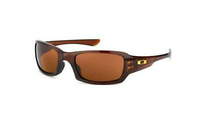 NEW Oakley FIVES SQUARED OO9238 07 Rootbeer Mens Womens Sunglasses Glasses