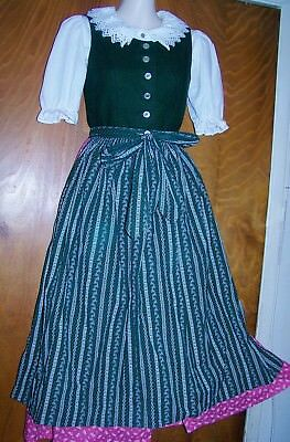 AUTHENTIC DIRNDL BLOUSE FROM GERMANY FOR GIRLS - GERMAN SZ.164 = ca.SZ. 12 GIRLS