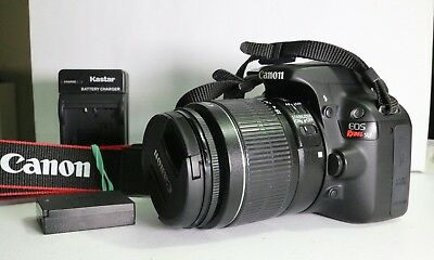 Canon EOS Rebel SL1 18.0MP Digital SLR Camera 18-55 lens VERY GOOD CONDITION