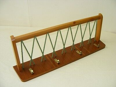 old wardrobe, Coat Hook Hat Rack Hook Rail Wood, Cult Retro 50er Years