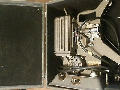 Untested and unconfirmed ,Vintage Keystone R-8 8mm  Film Projector with Box