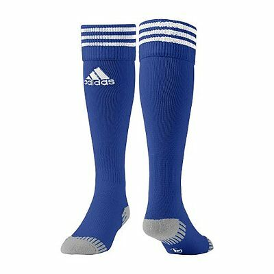 Adidas Adisock Football Socks Cobalt Blue Uk Sizes Kids 13.5 To Adult 12 Bnwt