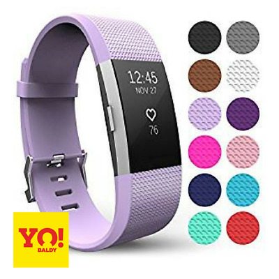 Fitbit Charge 2 Replacement Silicone Strap Sports Band Wristband Small & Large