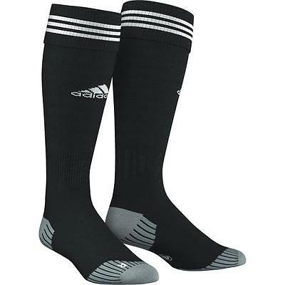 Adidas Adisock Football Socks Black/White Uk Size Kids 13.5 To Adult 12 Bnwt