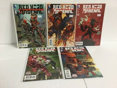 Red Hood And Arsenal 1 2 3 9 11 Variant Lot Nm Near Mint New 52   IK
