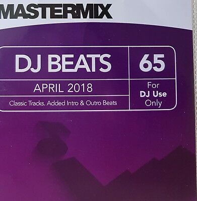 MASTERMIX DJ BEATS Vol 65  Compilation Album  New  April 2018