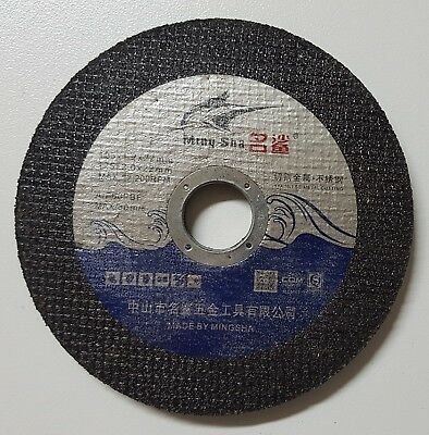 """5 x 125mm 5"""" ANGLE GRINDER CUTTING DISC WHEEL Stainless Steel Metal 1.2mm THIN"""