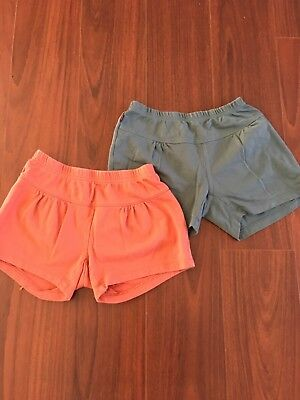 2 pair shorts by Tea size 8
