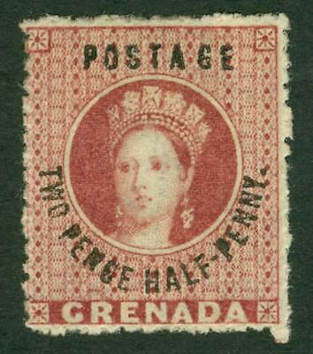 SG 22 Grenada 1881. 2½d rose lake. Fine mounted mint CAT £75