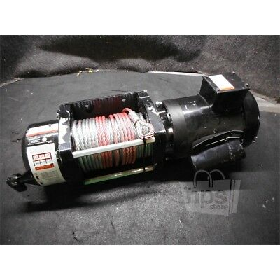Dayton 4ZY95 Pulling Electric Winch, 3000lb Pull Cap, 230V, 3/4Hp USED, AS-IS*