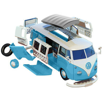 AIRFIX Quickbuild VW Camper Van Blue J6024 Car Model Kit