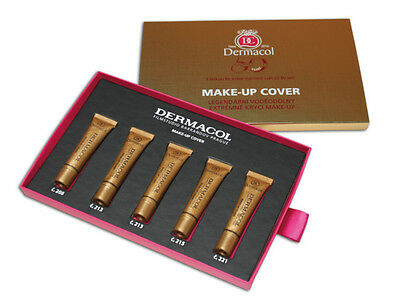 Dermacol Make Up Cover Foundation High Covering Makeup Conceaer Film Palette Set