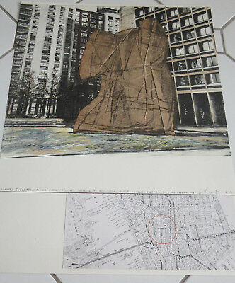 Christo Wrapped Sylvette, Project for Washington Square Village, New York, 1972