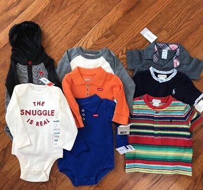 baby boy clothes 12- 18 months lot