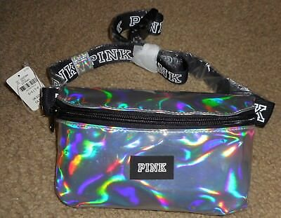 NWT Victoria's Secret PINK Iridescent Adjustable Fanny Pack - LIMITED EDITION
