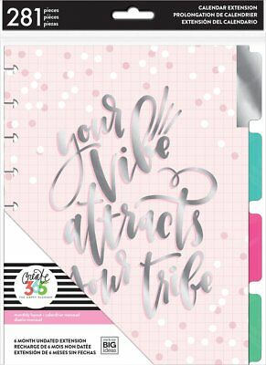MAMBI THE CLASSIC Happy Planner - Extension Pack - Can Do Undated 6 Month