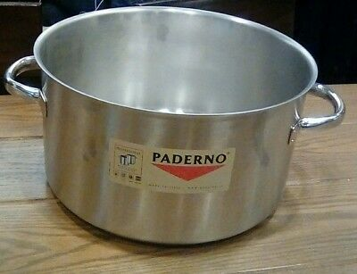 World Cuisine - 11007-36 - Paderno 21.5 qt Stainless Steel Sauce Pot