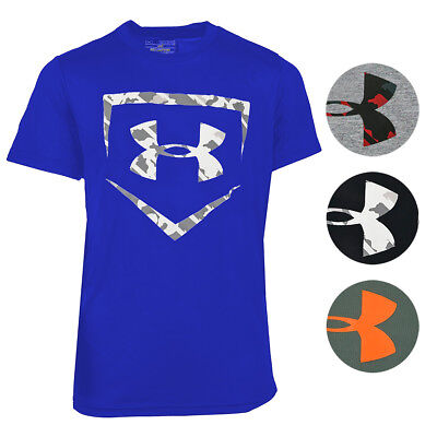 Under Armour Boys' UA Tech Home Plate Short Sleeve T-Shirt