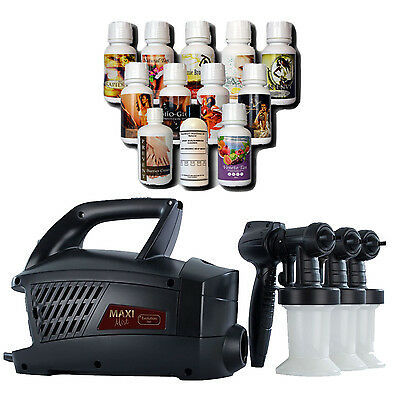 Maximist Evolution TNT Spraytan Machine with extra guns and Tampa Bay Tan Spray