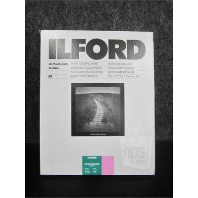 """Ilford Multigrade FB Classic Paper (Glossy, 11 x 14"""", 50 Sheets) - NEW SEALED"""