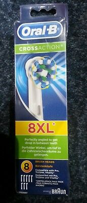Oral B Cross Action 8 heads pack