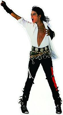 "Michael Jackson Life Size 75"" Tall CARDBOARD CUTOUT Standup Standee"