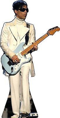 """Prince in White Suit  63""""Tall Life Size CARDBOARD CUTOUT Standup Standee"""