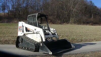 2001 Bobcat 864 Track Skid Steer With New Bucket...only 3100 Hours!